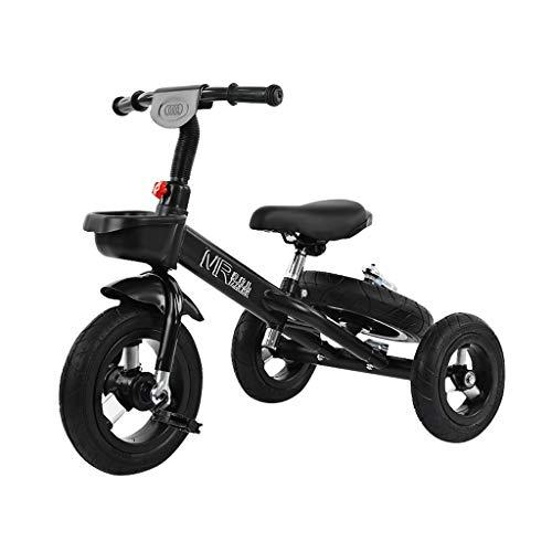 Los niños de 3 ruedas del cochecito portátil triciclo de niños de 3-6 años de la instalación equilibrio del coche de los niños de edad de los 2 años de edad que tiene es adecuado for aire libre que mo