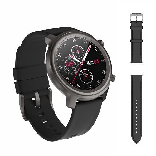 Smartwatch Uomo Donna con Cardiofrequenzimetro del Sonno, Orologio Elettronico con Funzione di Chiamata, Contatore di Calorie Fitness Tracker IP68 Impermeabile per iOS Android
