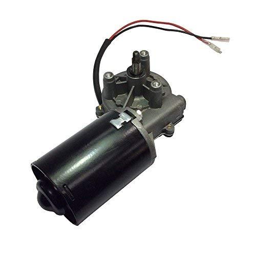 Motor de engranaje helicoidal eléctrico, 12 - 24 V CC, ángulo recto...