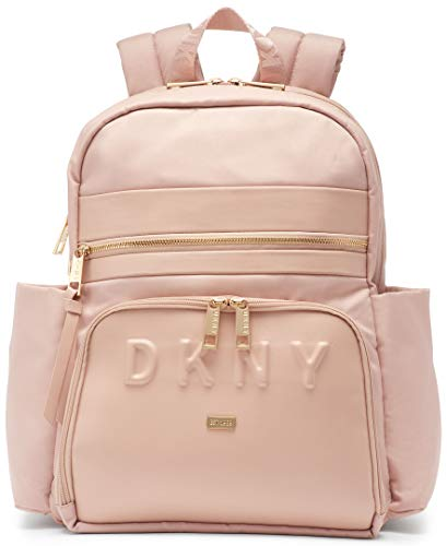 DKNY Trademark Backpack, Pink, 15'