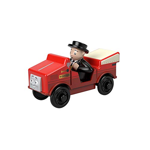 Thomas & Friends Thomas and Friends GGG36 Wood Winston Vehicle Toy