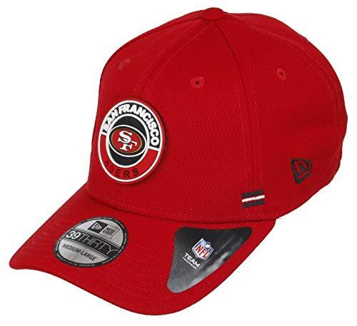 New Era San Francisco 49ers 39thirty Stretch Cap NFL 2020 Sideline Road Alternative Red - L-XL