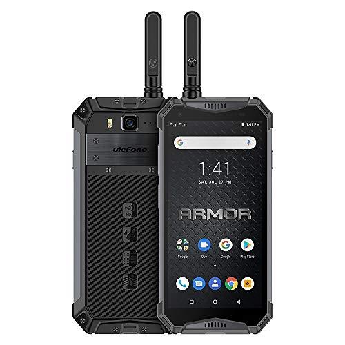 Phone Armadura 3WT, la función de walkie talkie, dual 4G, 6 GB + 64 GB, IP68 / IP69K impermeable a prueba de polvo a prueba de golpes, Face ID y identificación de huellas dactilares, 10300mAh batería,