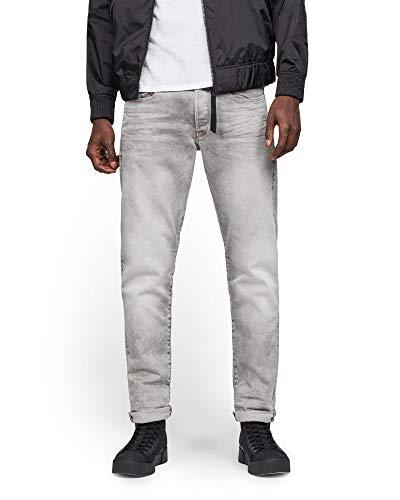 G-STAR GmbH G-STAR RAW Herren 3301 Tapered Fit Jeans, Grau (Lt Aged 6997-424), 31W / 34L
