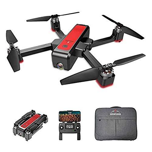 MARSMO B4W WiFi FPV Drohne mit Verstellbarer Luftbildkamera 5G Live Video Quadcopter Hubschrauber mit 3 Flugmodi für Einsteiger & Erwachsene mit 1,6 Kilometer Reichweite, GPS Heimkehr【2020 NEUESTE】