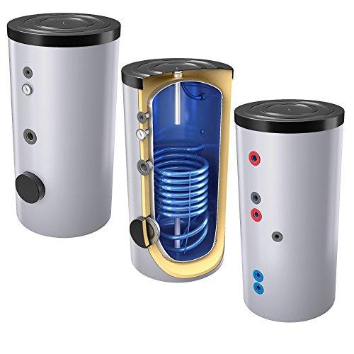 SHWT 200 Liter emaillierter Solarspeicher Warmwasserspeicher Trinkwasserspeicher, Energieeffiziensklasse Bild