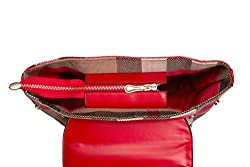 Women Handbags for Clearance Sale all occasion Stylish cross-body Satchel Shoulder Trendy lady's tote hot deals (color RED, SIZE: 11L,5W, 9H in INCH)