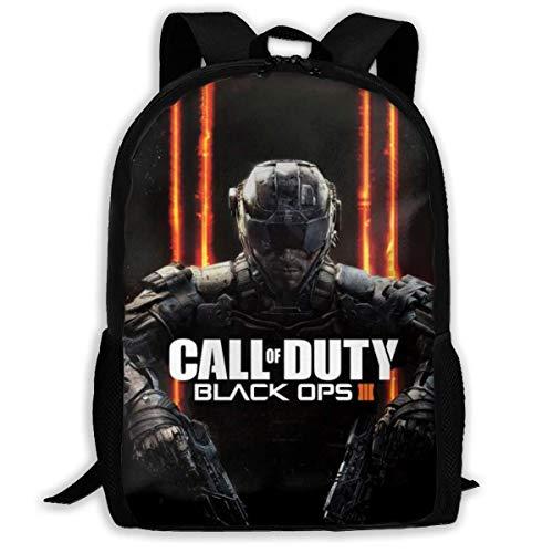 Shichangwei Fashion Kids Call Black Duty Backpack For School Girls Boys Daypacks Backpack Zipper