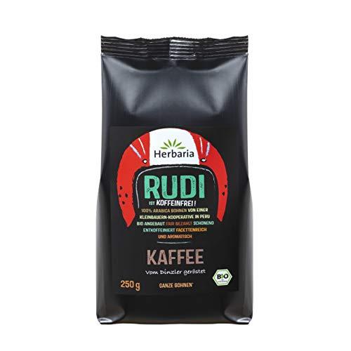 HERBARIA - Rudi Kaffee entkoffeiniert ganz bio - 250 g
