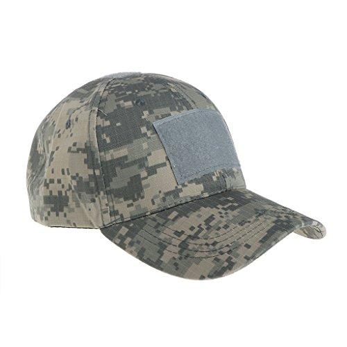 Exing Chapeau de Camouflage Tactique Militaire Casquettes de Baseball de Chasse en Plein air Casquettes Camo armée (2#)