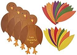 I am Thankful Turkey Craft Kit