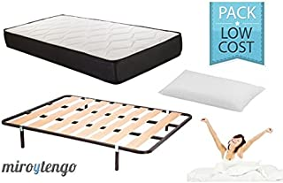 Pack Low Cost Descanso Completo 135X190 (colchon + somier +