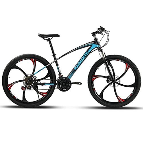 Bicicleta de montaña Mountainbike Bicicleta Bicicleta de montaña 21/24/27 velocidad Doble freno de disco 26 de las ruedas Suspensión Tenedor de bicicletas de montaña MTB Bicicleta Mountainbike Bicicle