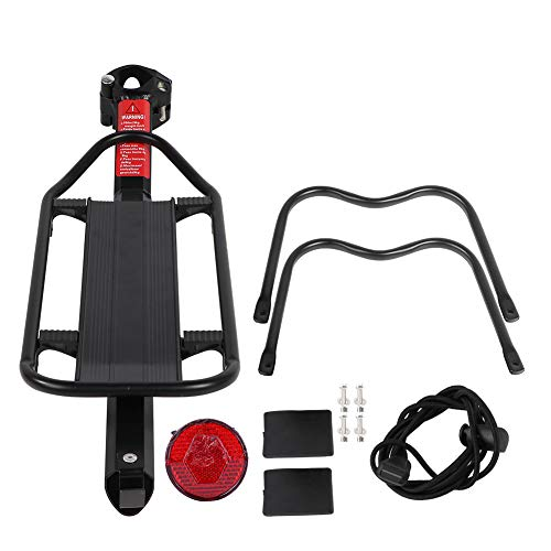 Great Features Of OhhGo Mountain Bike Bicycle Rear Seat Luggage Shelf Rack Carrier Aluminum Alloy Cy...