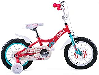 JOYSTAR 14 Inch Kids Bike for 3-5 Years Old Girls, Lightweight Aluminum Alloy Kids Bicycle with Training Wheels and Hand Brake for 36-40˝ Tall Toddlers