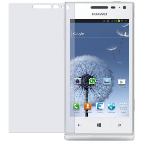 dipos I 2X Schutzfolie matt kompatibel mit Huawei Ascend W1 Folie Displayschutzfolie