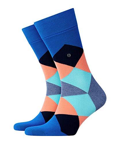 BURLINGTON Herren Socken Clyde - Baumwollmischung, 1 Paar, Blau (Lapis Blue 6452), Größe: 40-46