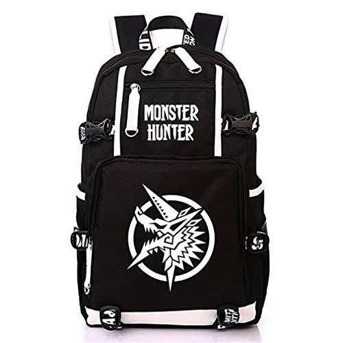 Siawasey Anime Monster Hunter Cosplay Backpack Daypack Bookbag Laptop School Bag