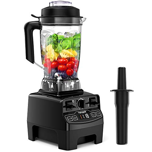 Standmixer Smoothie Maker, homgeek 2000W Smoothie Blender, Standmixer Hochleistung, 33,000 U/min, 2L Tritan-Behälter ohne BPA, High Performance Mixer