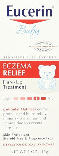 Eucerin Baby Eczema Relief Flare-Up Treatment, 2 Oz (2 Pack)
