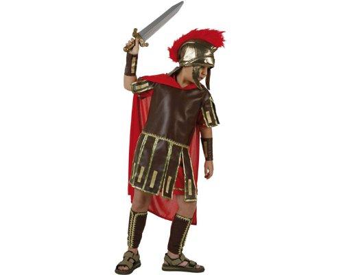 Atosa-96597 Disfraz Romano, color rojo, 7 a 9 años (96597)