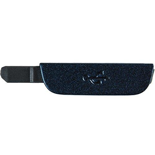 Original Samsung USB-Cover Blue/blau für Samsung i9295 Galaxy S4 Active (USB Abdeckung, Kappe) - GH63-03870B