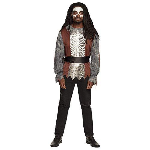 Boland 79188  Disfraz de Barn Samedi en diferentes tamaos, camiseta y cinturn, hombre, esqueleto, vampiro, curacin milagrosa, Halloween, carnaval, fiesta temtica