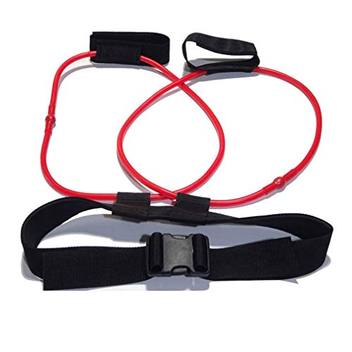 #N/A Widerstand Fitness Band Outdoor Trainer Seil Bein Training Übung Expander (rot) Jiobapiongxin