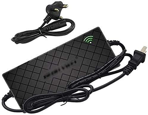 Caricabatteria al Litio 42V (2A / 3A / 4A) per Scooter Elettrico Intelligente 36V, Adattatore di Alimentazione Universale per Hoverboard Skateboard Monociclo Autobilanciato ( Color : 4A , Size : B )