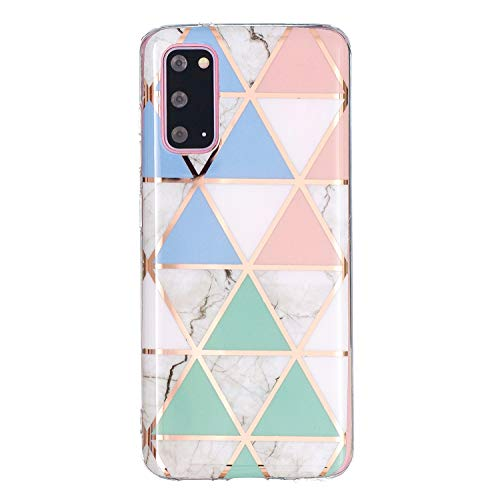 WANYINGLIN Bling Totem Rose Compatible with Samsung S20 FE,Ultra Thin Slim Colorful Frosted Soft Glitter Brilliant Girls TPU Gel Flexible Silicone Bumper