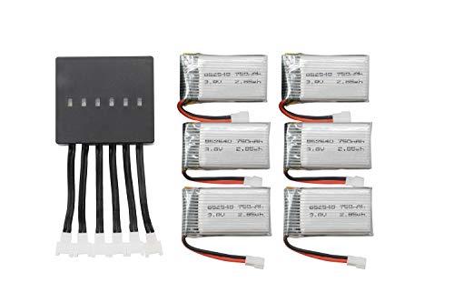 BTG 3.8V 750mAh Battery and X6 Charger for Beginners X708W UFO 3000 398 Halo 3000 Haktoys HAK905 GoolRC T32 T5W H42 UDI U45 Syma X15W X5SW X5C-1 X5SC-1 M68R Drone