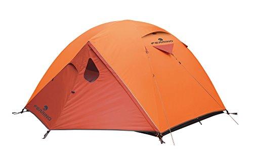 Ferrino Lhotse 4 4-Season Tent, Orange, 4-Person