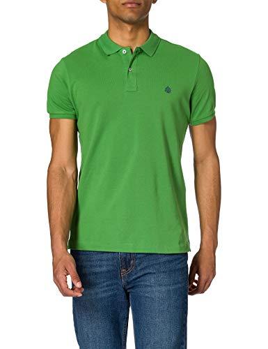 Springfield Polo Básico Slim Camiseta para Hombre