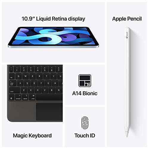 New Apple iPadAir (10.9-inch, Wi-Fi, 64GB) - Space Gray (Latest Model, 4th Generation)