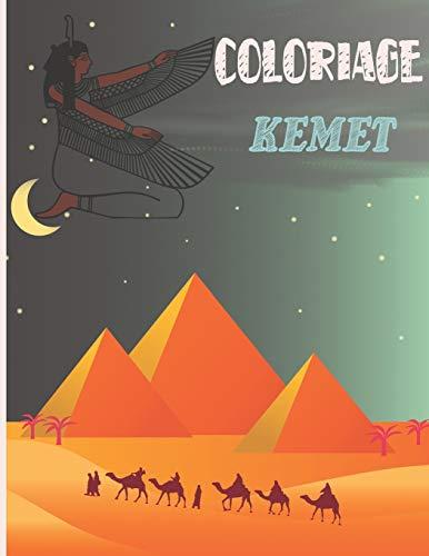 COLORIAGES KEMET: Livre de coloriage égyptien/africain   Egypte Maat   Traditions et spiritualité africaine