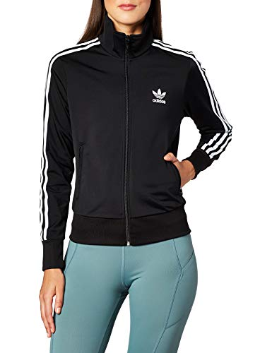Adidas Damen FIREBIRD TT Sweatshirt,  black, 48 (L)