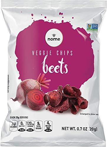Beet Chips 0.7oz (Pack of 12) Vegan, Gluten Free, NON-GMO
