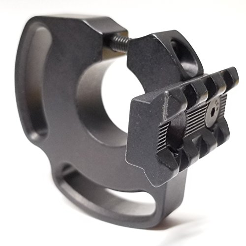 CDM GEAR MTRS-20 Light Mount with 3 Rails, Compatible with Mossberg 590 Shockwave 20 Ga