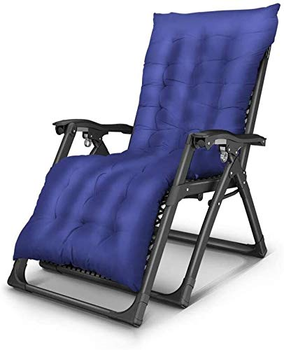 OESFL Silla Silla de Gravedad Cero Silla reclinable Plegable Salón Jardín Terraza al Aire Libre Grueso Acolchado Espesados Posiciones múltiples (Color : 003)