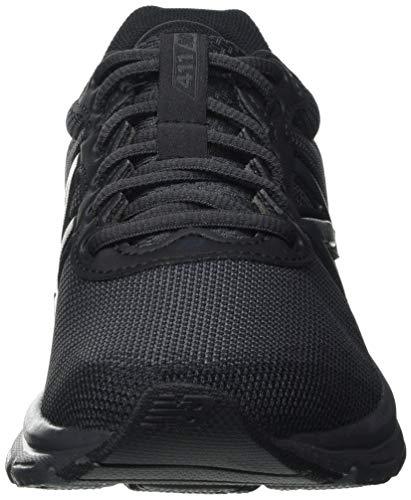 New Balance W411V2, Zapatillas para Correr Mujer, Black, 38 EU