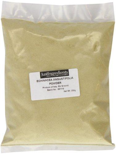JustIngredients Schmalblättriger Sonnenhut Wurzel Pulver, Echinacea Angustifolia Root Powder, 1er Pack (1 x 250 g)