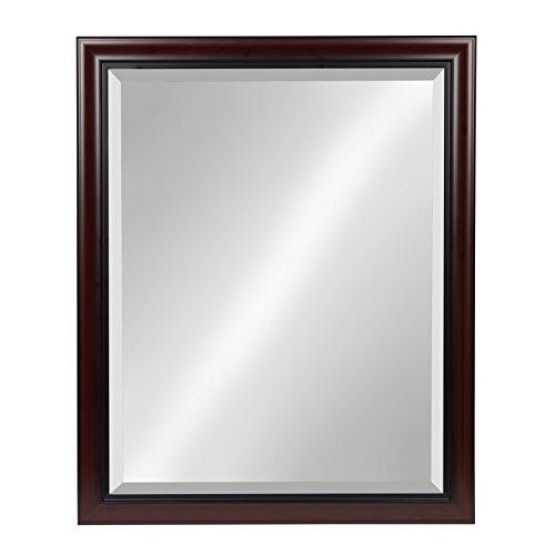 Kate and Laurel Dalat Framed Beveled Wall Mirror, 26x32, -