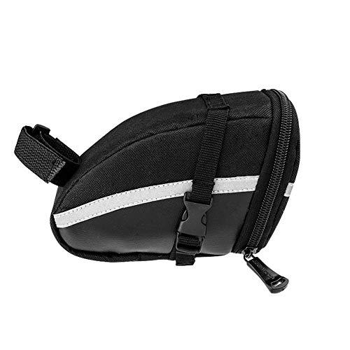 chebao, Kit de reparación de pinchazos de pegamento, bolsa de sillín de bicicleta de montaña de 1,2 l