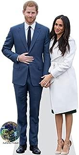 Prince Harry and Meghan Markle Life Size Cutout