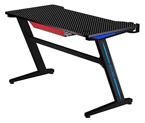 Gaming Computer Desk 39 inch - Gaming Desk, Carbon Fiber Desktop Desk, Easy Installation LingGe
