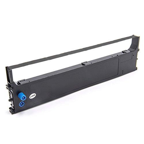 vhbw Farbband Nylonband Tintenband für Nadeldrucker OKI Microline ML-1120 eco, ML-1190 eco wie 43571802BE, 43571802