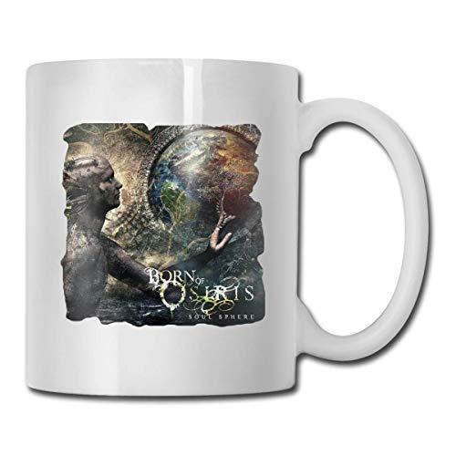 N\A Welerony Home Taza de café Born of Osiris - Soul Sphere Interesante Taza de 330 ml Taza de café de cerámica Taza de té