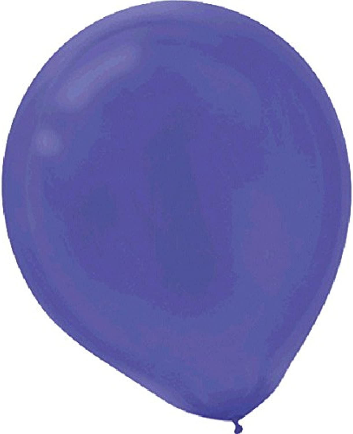Amscan Balloons color Theme Party Decoration,Latex, New Purple, 9, Pack of 12, 20 Pieces per Pack