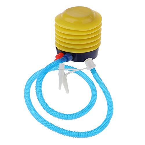 Xu-wang123 Globo de la Bola de la Bomba de Aire del pie for inflar con Aire for la natación Anillo Inflable Flotador Barco o Globo Camas de Aire for balsa Inflable Anillo Juguete (Color : Yellow)