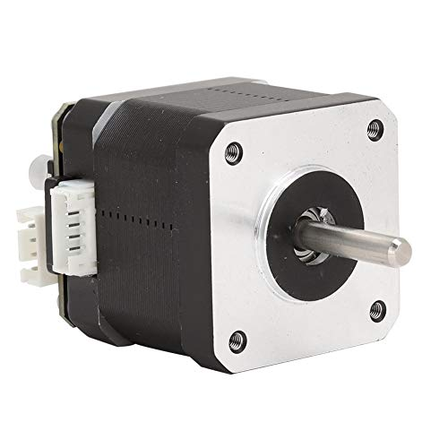 Redxiao 【𝐒𝐩𝐫𝐢𝐧𝐠 𝐒𝐚𝐥𝐞 𝐆𝐢𝐟𝐭】 Stepper Motor, with Adapter Board STM32 3D Printer Motor, Stable MKS SERVO42B for 3D Printer